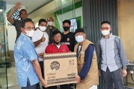 Inkindo Sulsel Salurkan Bantuan Penerangan Peduli Gempa Sulbar