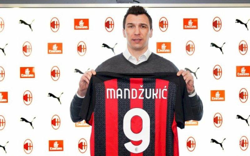 Mario Mandzukic. foto: twitter @acmilan