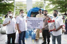 Pelindo IV Distribusikan Bantuan untuk Korban Gempa Sulbar
