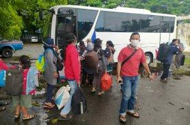 686 Pengungsi Dampak Gempa Sulbar Tiba di Makassar