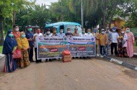 Politani Pangkep Salurkan Bantuan Korban Gempa Sulbar