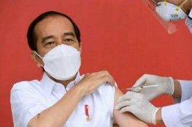 Inilah Daftar Penerima Vaksin Covid-19 Perdana Bersama Presiden