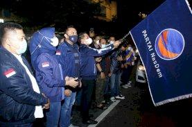 Rusdi Masse Lepas Bantuan Nasdem Sulsel untuk Korban Gempa Sulbar