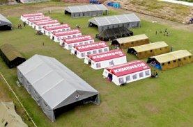 Kemensos Dukung Pemulihan Psikososial Pengungsi Gempa Sulbar