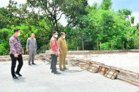 Wagub Sulsel Tinjau Pembangunan Jembatan dan Jalan Lingkar di Sidrap