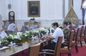 Presiden Puji Penanganan Covid-19 dan Ekonomi di Sulsel