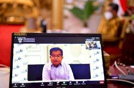 Jusuf Kalla-Nurdin Abdullah Hadiri Tudang Sipulung Virtual Dies Natalis Ke-60 FISIP Unhas