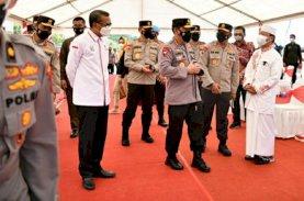 Kapolri Apresiasi Langkah Cepat Gubernur Sulsel untuk Korban Gempa Sulbar