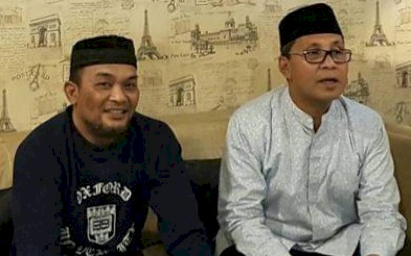 Moh Ramdhan Pomanto (kanan)-Djusman AR. foto: istimewa