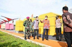 Gubernur Sulsel Resmikan Amphi Theatre Pelebaran Jalan Metro Tanjung Bunga Tahap I
