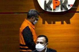 Tersangka OTT KPK, Nurdin Abdullah: Saya Mohon Maaf