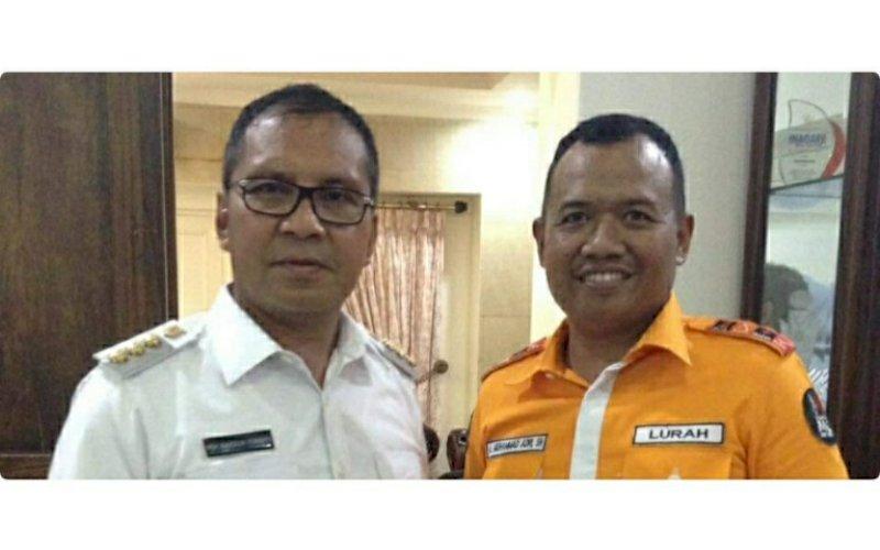 Andi Muhammad Adri (kanan) bersama Moh Ramdhan Pomanto. foto: istimewa