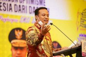 Buka Rakerda SMSI, Plt Gubernur Sulsel Harap Media Bersinergi dengan Pemerintah