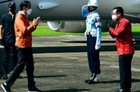 Presiden Didampingi Plt Gubernur Sulsel Bertolak ke Toraja