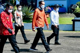 Sambut Presiden, Plt Gubernur Sulsel Kenakan Batik Lontara