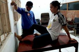 Hujan dan Genangan Air Tak Halangi Tes Fisik Atlet PON Papua