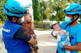 Blue Helmet, Juru Bicara Kemanusiaan Partai Gelora