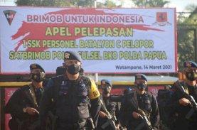 1 SSK Personel Brimob Bone Siap Bertugas ke Papua
