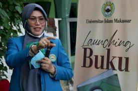 Majdah: Takziah AG KH Sanusi Baco di Masjid Raya Makassar Terapkan Protokol Kesehatan
