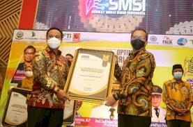 Wali Kota Makassar Raih Penghargaan Peduli Media dan Pers