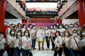 Hadiri Vaksinasi Perwanti, Wali Kota Makassar Imbau Warga Ikut Vaksin Covid-19