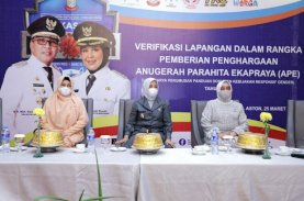 Verifikasi Lapangan APE, Wawali Paparkan Program Makassar Recover