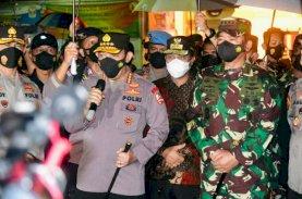 Dampingi Kapolri dan Panglima TNI, Plt Gubernur Sulsel Jenguk Korban Ledakan Bom