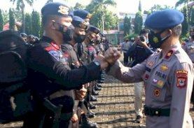 Polda Sulsel Kirim 2 SSK Brimob ke Papua