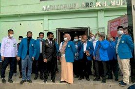 Mentan Kunjungi UIM, Beri Apresiasi Kepemimpinan Majdah