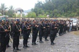 Pasukan BKO Brimob Polda Sulsel Tembus Medan Darat Papua Sejauh Ratusan Kilometer