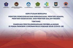 SKB 4 Menteri: Pembelajaran Tatap Muka Terbatas Mulai Juli 2021