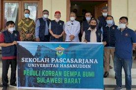 Gubernur Sulbar Apresiasi IKA Magister Ilmu Biomedik Unhas Peduli Korban Gempa