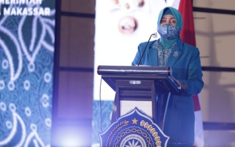 Indira Yusuf Ismail. foto: humas pemkot makassar