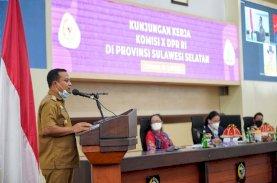 Plt Gubernur Sulsel Paparkan Pengembangan Pariwisata di Depan Komisi X DPR RI