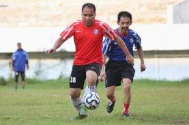 Danny Perkuat Tim Sepak Bola Wali Kota Lawan Legenda PSM