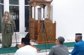 Majdah: Tarawih di Masjid Baru UIM dengan Protokol Kesehatan Covid-19