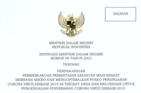 Mendagri Terbitkan Instruksi Pelaksanaan PPKM Mikro Termasuk di Sulsel
