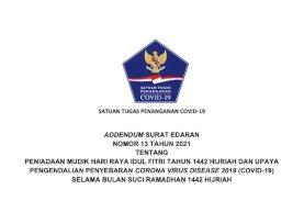 Satgas Covid-19 Perketat Aturan Perjalanan Melalui Adendum SE 13 Tahun 2021