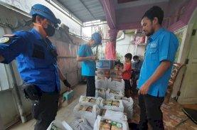 Gelora Makassar Berbagi dengan Korban Kebakaran