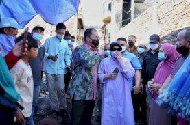 Wali Kota Makassar Bantu Korban Kebakaran Bonto Duri