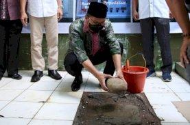 Wali Kota Letakkan Batu Pertama Pembangunan Musala SMPN 5 Makassar