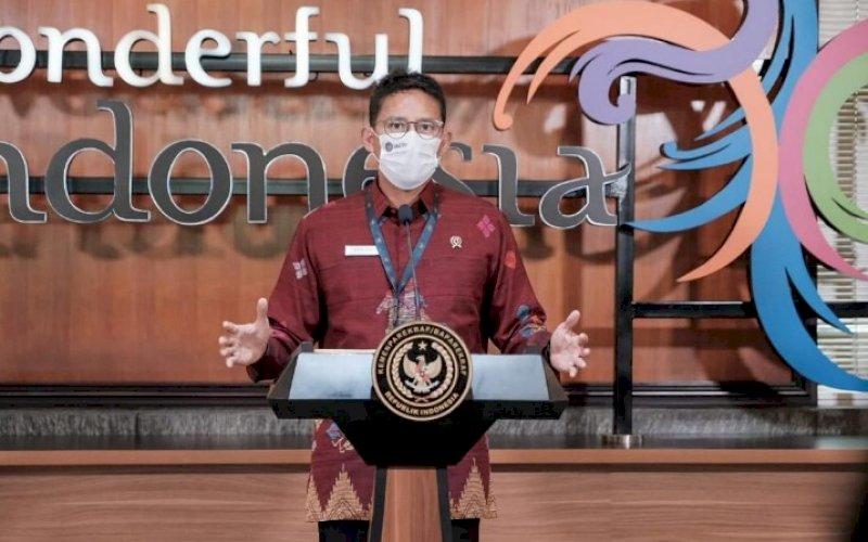 Sandiaga Salahuddin Uno. foto: humas kemenparekraf