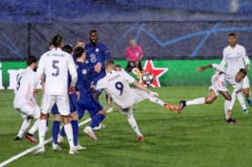 Madrid Vs Chelsea Imbang 1-1: Zidane Puas, Tuchel Kecewa