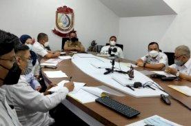 Sekda Kota Makassar Ikuti Sosialisasi Aplikasi MCP KPK