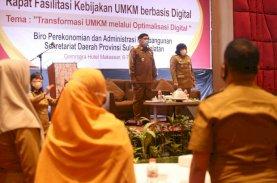 Sekda Sulsel Harap Digitalisasi Ekonomi Tingkatkan Taraf Hidup Pelaku UMKM