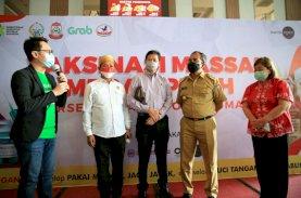 Festival Smart Vaksinasi Makassar Cetak Rekor Terbanyak di Indonesia