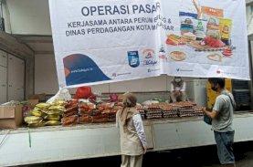 PD Pasar Makassar Operasi Pasar Jelang Ramadan