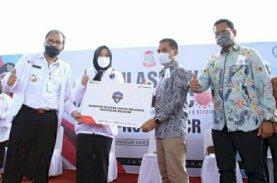 Pertamina Serahkan 5.000 Masker untuk Relawan Makassar Recover