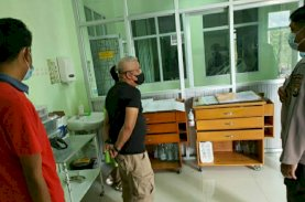 Wakil Ketua DPRD Tual Jenguk Korban Bom di Gereja Katedral Makassar
