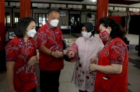 Indira Apresiasi Donor Darah Ramadan PSMTI